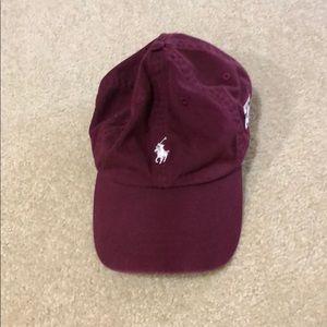 Ralph Lauren, TAMU maroon hat